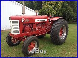 1959 International D450 Wheatland tractor, Fully Restored