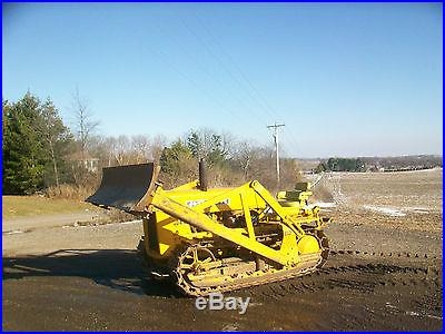 1959 John Deere 440 Crawler Antique Tractor NO RESERVE Three Point Hitch Oliver