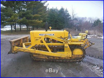 John Deere Crawler Antique Tractor No Reserve Three Point Hitch Oliver Db
