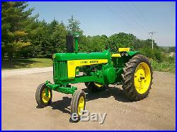 1959 John Deere 530 Antique Tractor NO RESERVE Loaded and Nice A B G H D M R 730