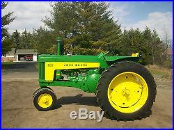 1959 John Deere 630 Antique Tractor NO RESERVE 3 PT. Fenders A B G D H M farmall