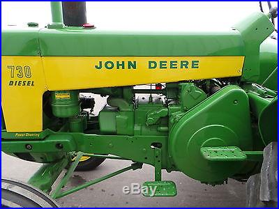 1959 John Deere 730 Diesel Electric Standard 3 Point
