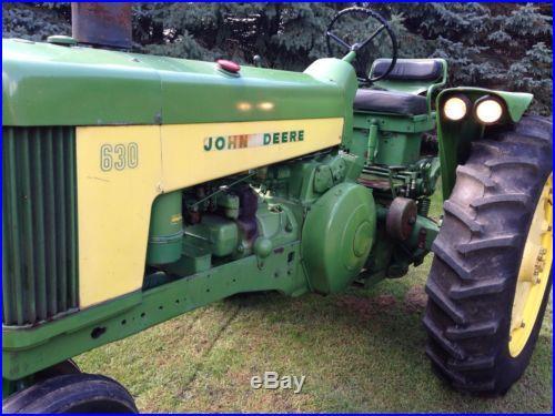 1960 John Deere 630
