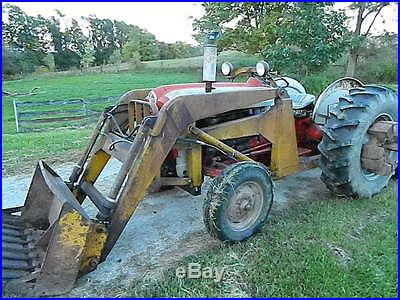 Ford Powermaster Tractor With Loader And Pto Drive Wd Rp