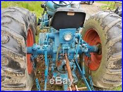 1961 Fordson Super Major 54 hp diesel Ford 5000 tractor used vintage antique