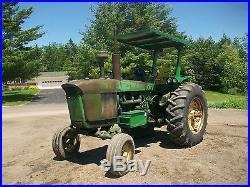1961 John Deere 4010 Deisel Antique Tractor NO RESERVE a b g h d m farmall allis