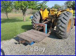 1963 John Deere 2010 Wheel Industrial Tractor