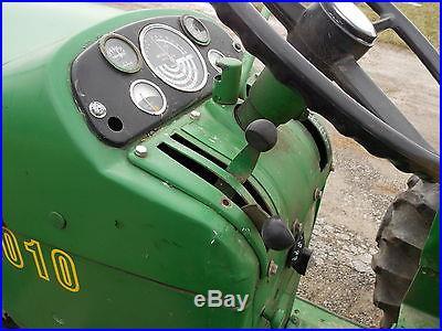 1963 John Deere 2010 row crop utility tractor
