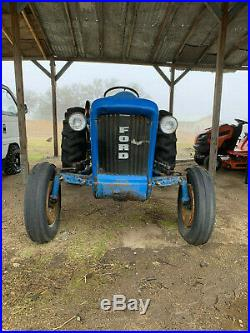 1964 Ford 2000 SERIES USED COMPACT TRACTOR- gas- agriculture- farming equipment