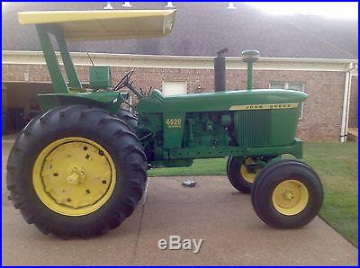 1965 John Deere 4020 tractor