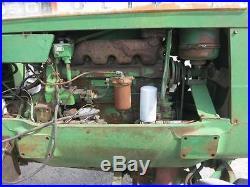 1965 Oliver 1950 4x4 Tractor, 105 HP Detroit Diesel, Rear Fenders All Original