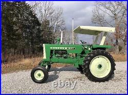 1965 Oliver 1550 No Expense Spared Restoration Tractor Farming Equipment