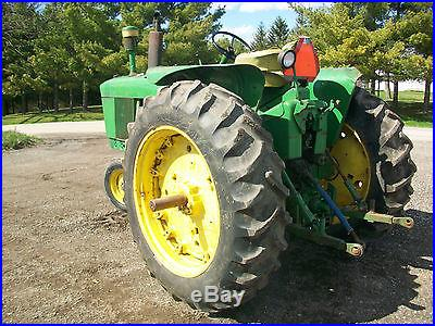 1966 John Deere 3020 Diesel Antique Tractor NO RESERVE Dual Hydraulics