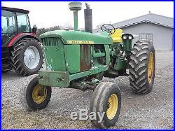 1968 John Deere 4020 Diesel Tractor No Reserve