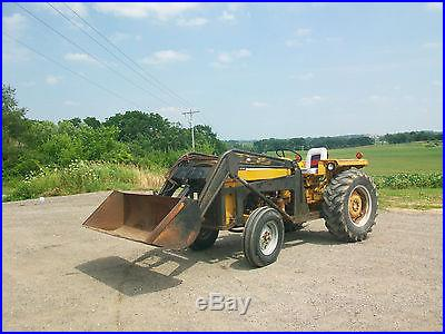 1968 Massey Ferguson 2200 Loader Tractor NO RESERVE Ford Antique Power Steering