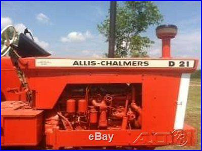 1969 Allis Chalmers D21 Series 2 Tractor GEORGIA