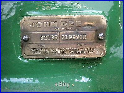 1969 John Deere 4000 (RARE)