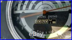 1970 John Deere 1020 2.2 Gas 3 Cylinder 43HP 3 Point Rear PTO 8 Spd Transmission