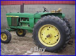 1970 John Deere 4020 Diesel Side Console Tractor, Runs Great, Ready to Work
