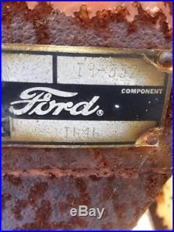 1971 Ford 4000 Tractor Loaders
