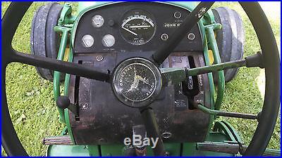 1971 John Deere 4020 Powershift Side Console