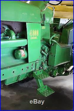 1971 John Deere 4020 diesel tractor