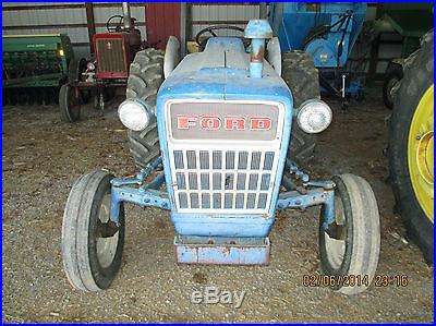 1972 Ford 2000 2WD Tractor