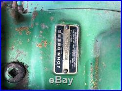 1972 John Deere 4000 Diesel Powershift Late Serial Number Differential Lock