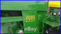 1972 John Deere 4000 Diesel-last year production