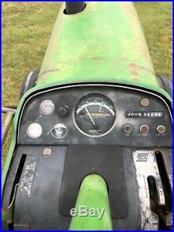 1972 John Deere 4020 diesel powershift