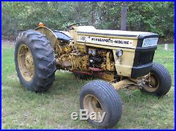 1973 Minneapolis Moline G-450 2-WD Diesel Tractor with YouTube Videos