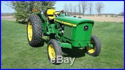 1975 John Deere 830 Utility Tractor