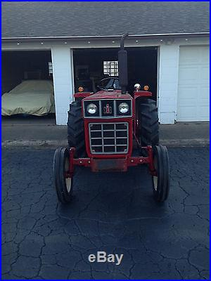 1977 284 International IH Utility Tractor ONLY 270 HOURS 4 Cyl Stored Indoor