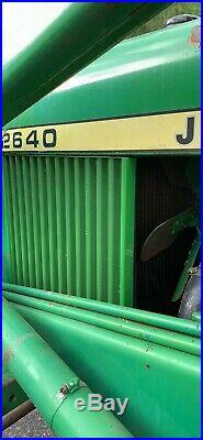 1977 John Deere 2640 With Loader