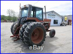 1978 International Harvester 1086 Tractor, Cab, 2 Speed Trans, 3 Remotes, 5174 Hrs