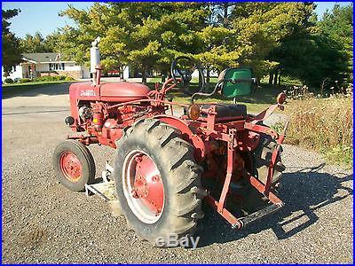 1979 Farmall 140 Antique Tractor NO RESERVE International Harvestor Mower