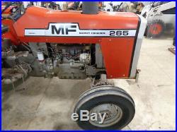 1981 Massey Ferguson 265 Tractor, 2WD, 12 Speed, 1 Remote, 2,014 Hours, NICE