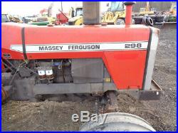 1984 Massey Ferguson 298 Tractor, 2WD, 12 Speed, 1 Remote, 1,169 Hours, NICE