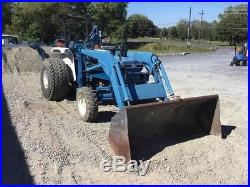 1985 Ford 2110 Compact Tractor with Loader & Backhoe! Needs Motor Work