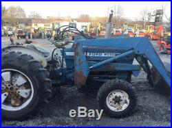 1985 Ford 2600 2wd Diesel Utility Tractor with Loader CHEAP LOADER TRACTOR