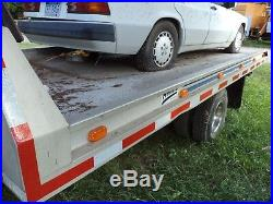 1985 Ford F-350 Rollback With Rear Car Lift