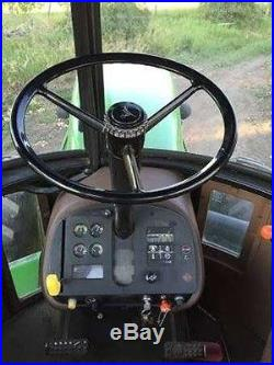 1985 John Deere 8450 200 HP Diesel Engine Powershift PTO Stereo A/C Work Lights