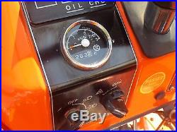 1986 Kubota B5200 4X4 260 ORIGINAL Hours / 60 Mower Deck / Beautiful