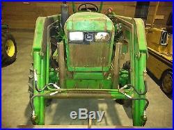 1987 John Deere 1050 Tractor with 75 Front Bucket Loader