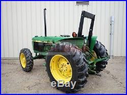 1987 John Deere 2355 Tractor 4x4 3 Point Rear Remote 64 HP Deere Diesel 1756 Hrs