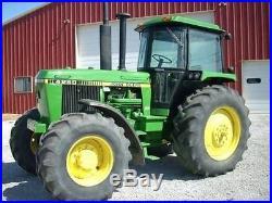 1987 John Deere 4250 MFWD