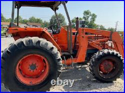 1988 Kubota M6950 4x4 69Hp Utility Tractor with Loader CHEAP