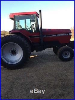 1990 Case IH 7130 Tractor 210HP Cummins Diesel Powershift 2WD Heat & A/C