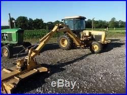 1990 John Deere 2755 Tractor with Tiger All Hydraulic Driven Boom Mower