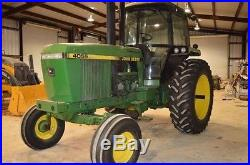 1990 John Deere 4055 Tractor 5840 Hours Headland, ALABAMA